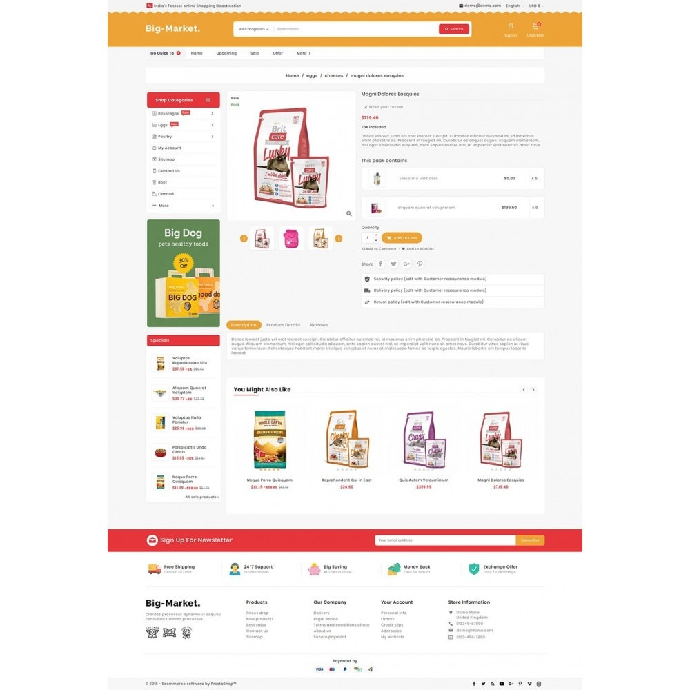 theme - Animais - Big Market Pet Foods - 5