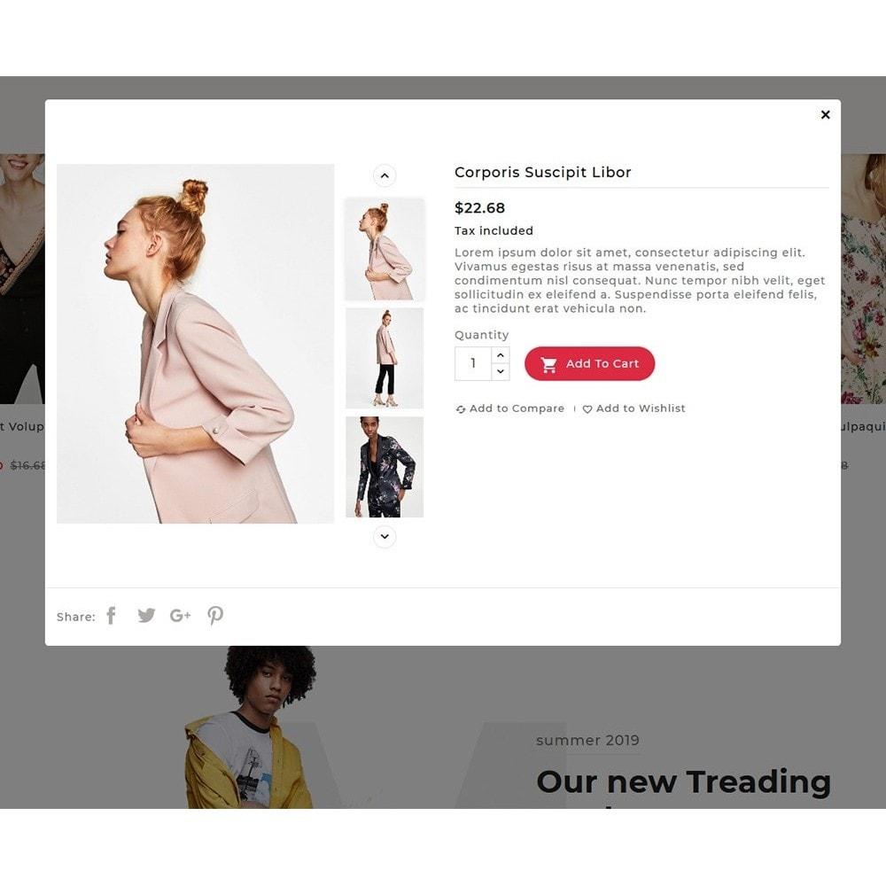 theme - Fashion & Shoes - Floral Flamingo & Fashion Apparels - 8