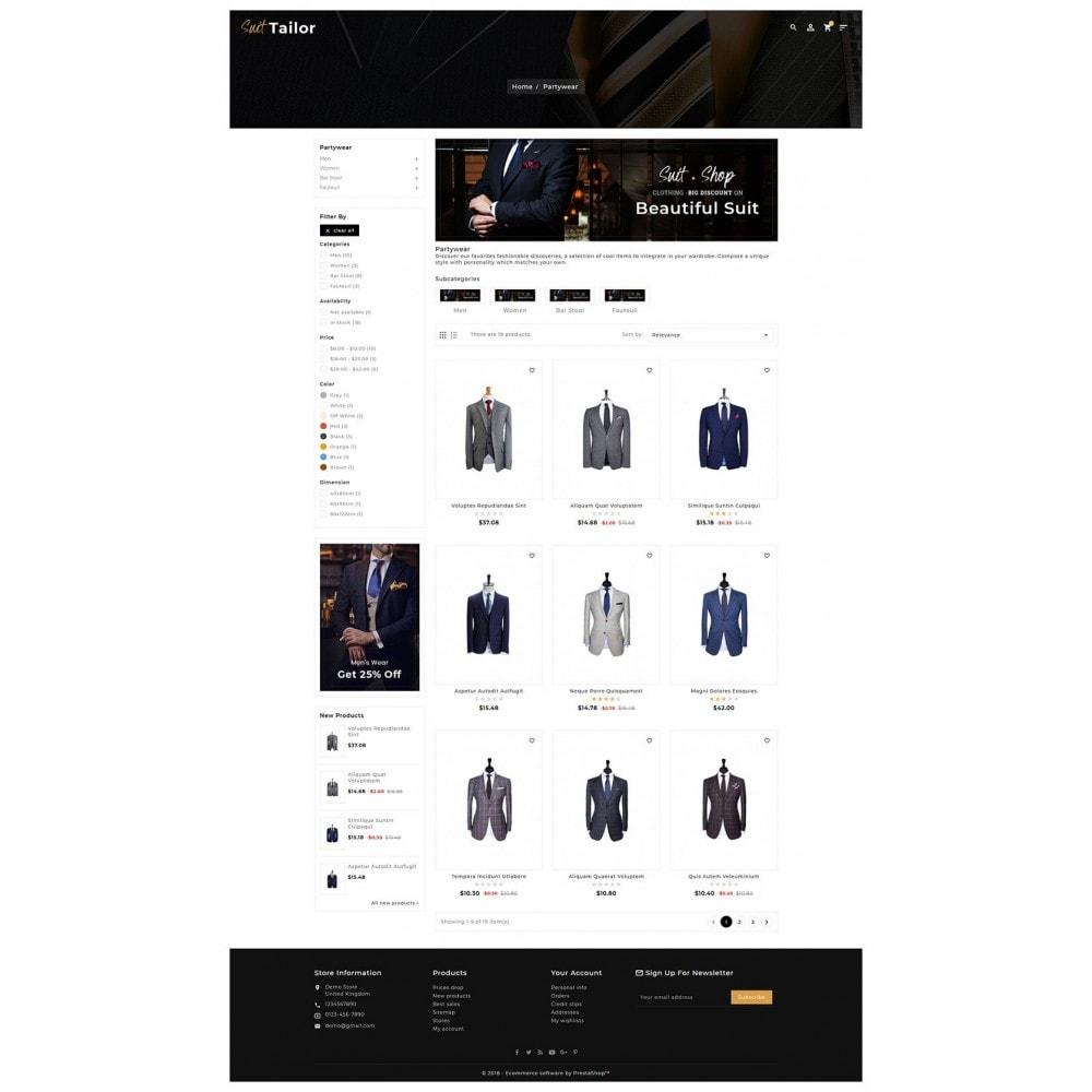 theme - Fashion & Shoes - Floral Suit & Tailor - 3