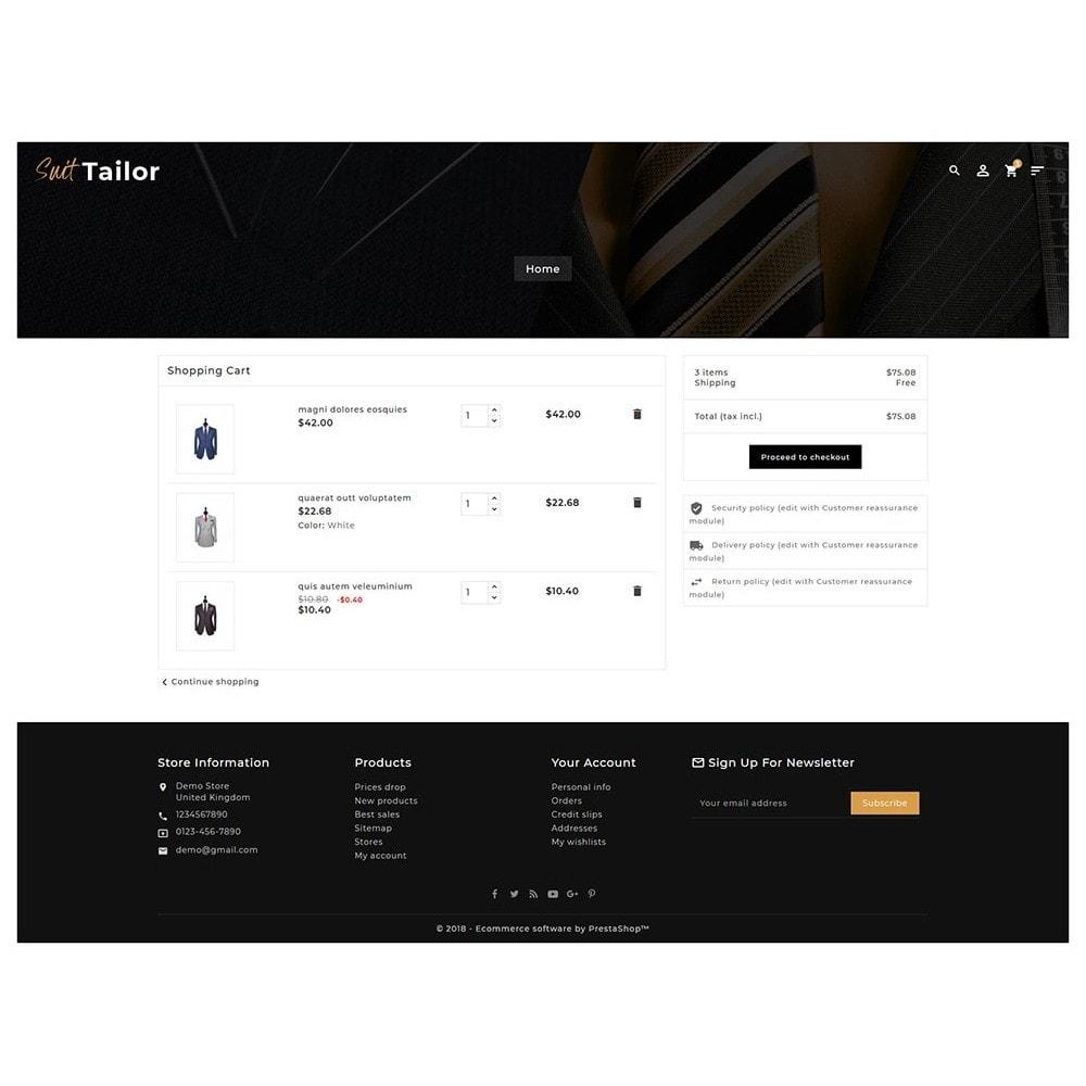 theme - Fashion & Shoes - Floral Suit & Tailor - 6