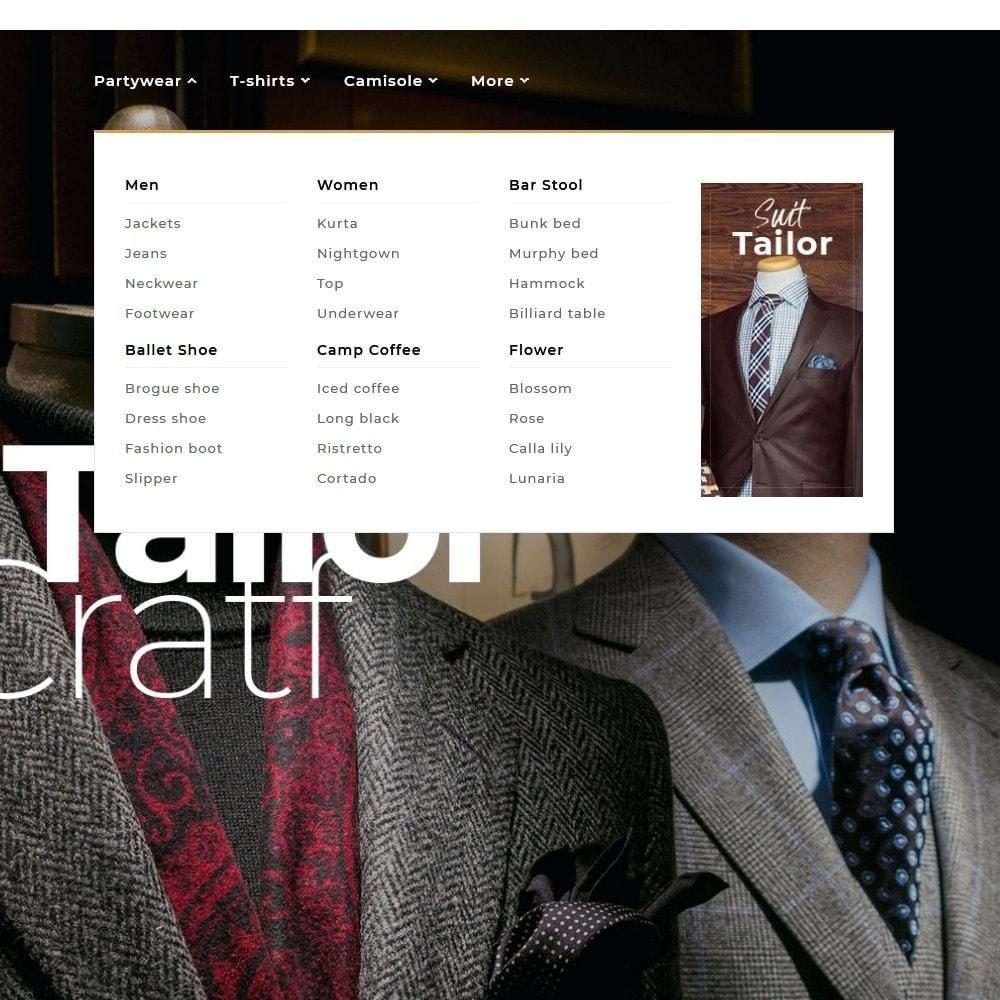 theme - Fashion & Shoes - Floral Suit & Tailor - 9