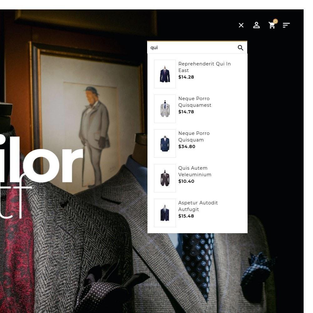 theme - Fashion & Shoes - Floral Suit & Tailor - 10