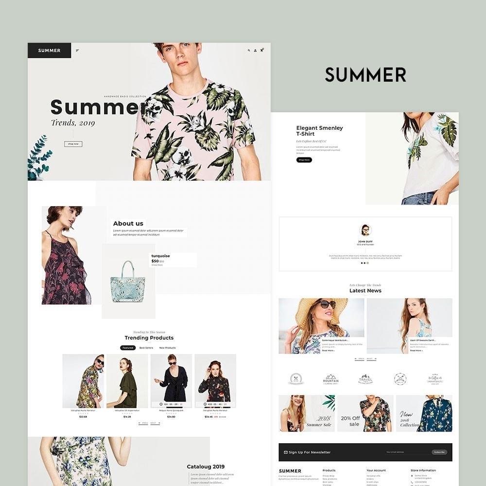 theme - Fashion & Shoes - Floral Fashion - Summer Shop - 2