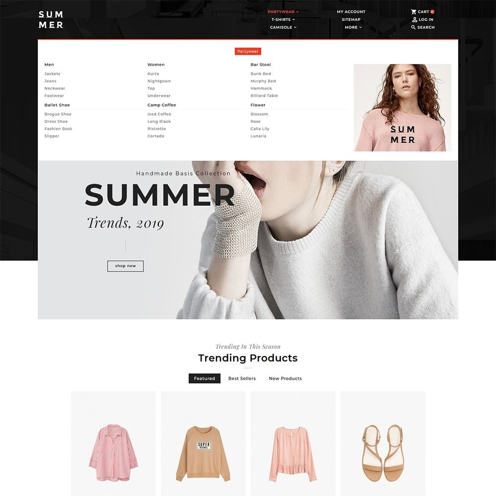 theme - Fashion & Shoes - Floral Summer Style - 9