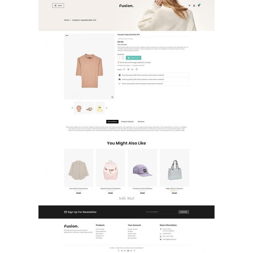theme - Fashion & Shoes - Fashion Fusion - Floral Look - 5