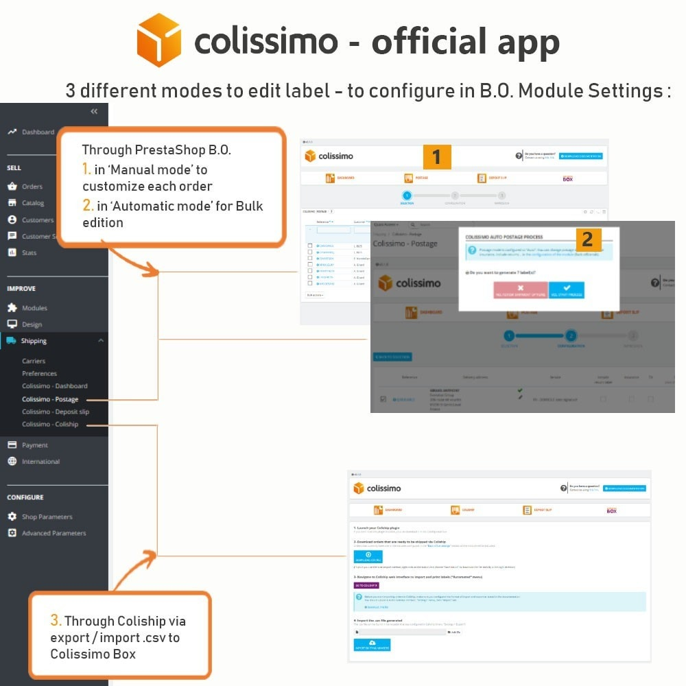 module - Shipping Carriers - Colissimo - Official app: your shipments with Colissimo - 11