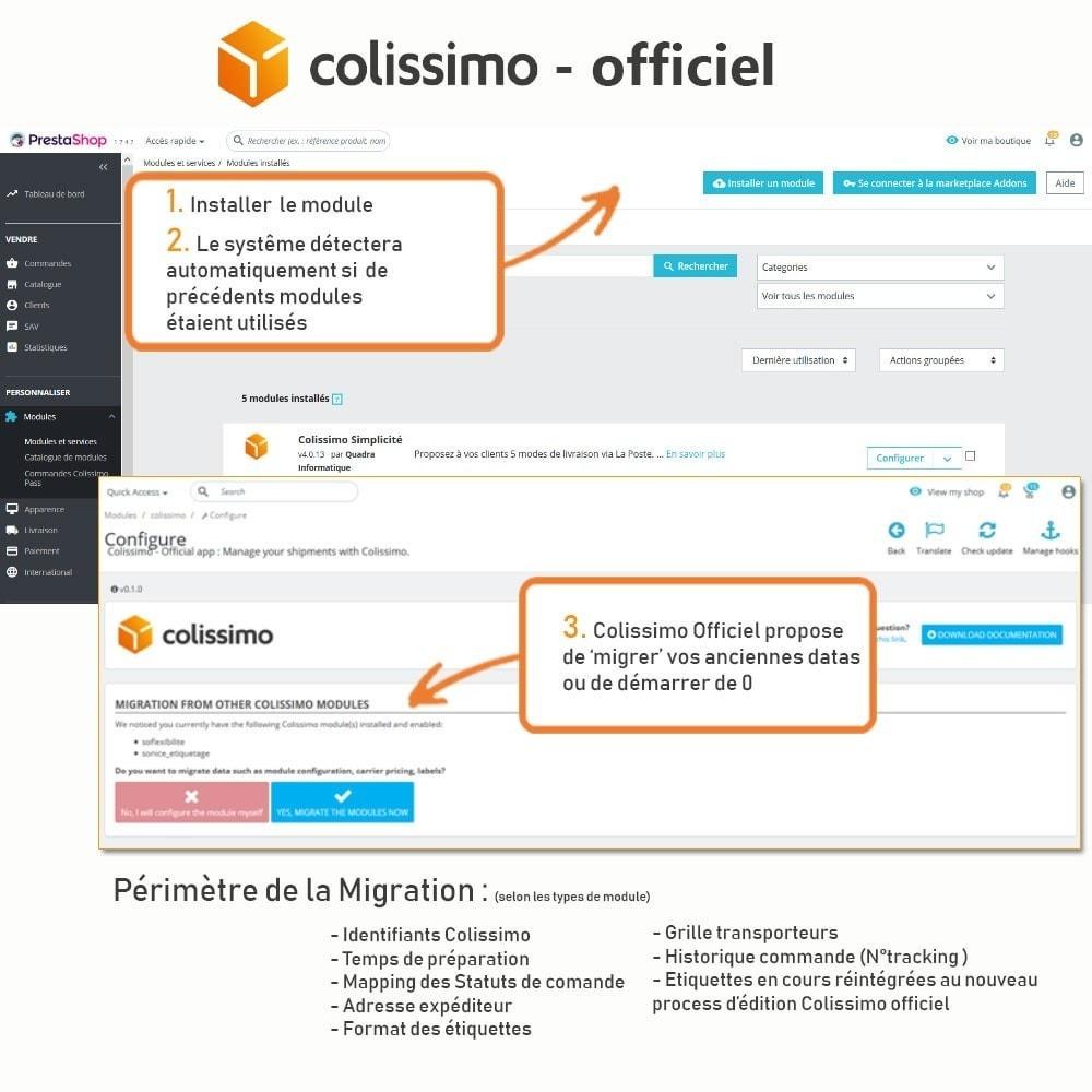 module - Transporteurs - Colissimo - Officiel : vos expéditions avec Colissimo - 2