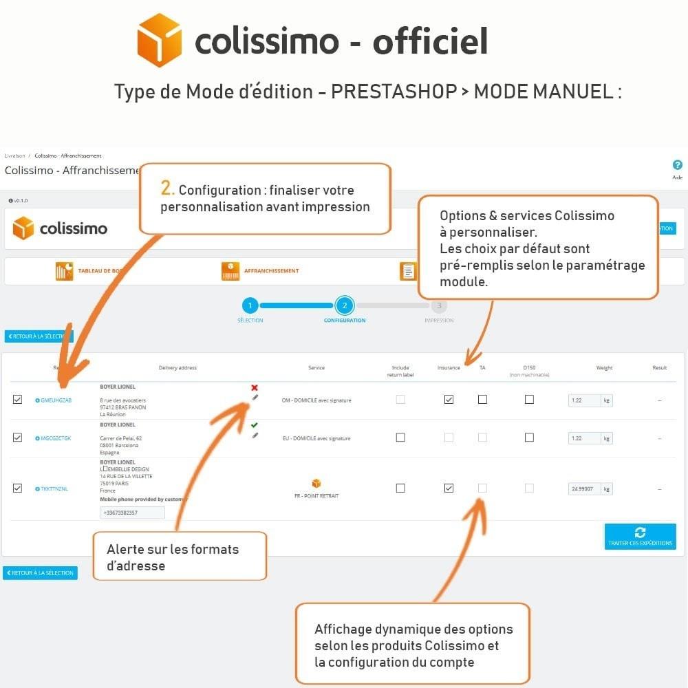 module - Transporteurs - Colissimo - Officiel : vos expéditions avec Colissimo - 13
