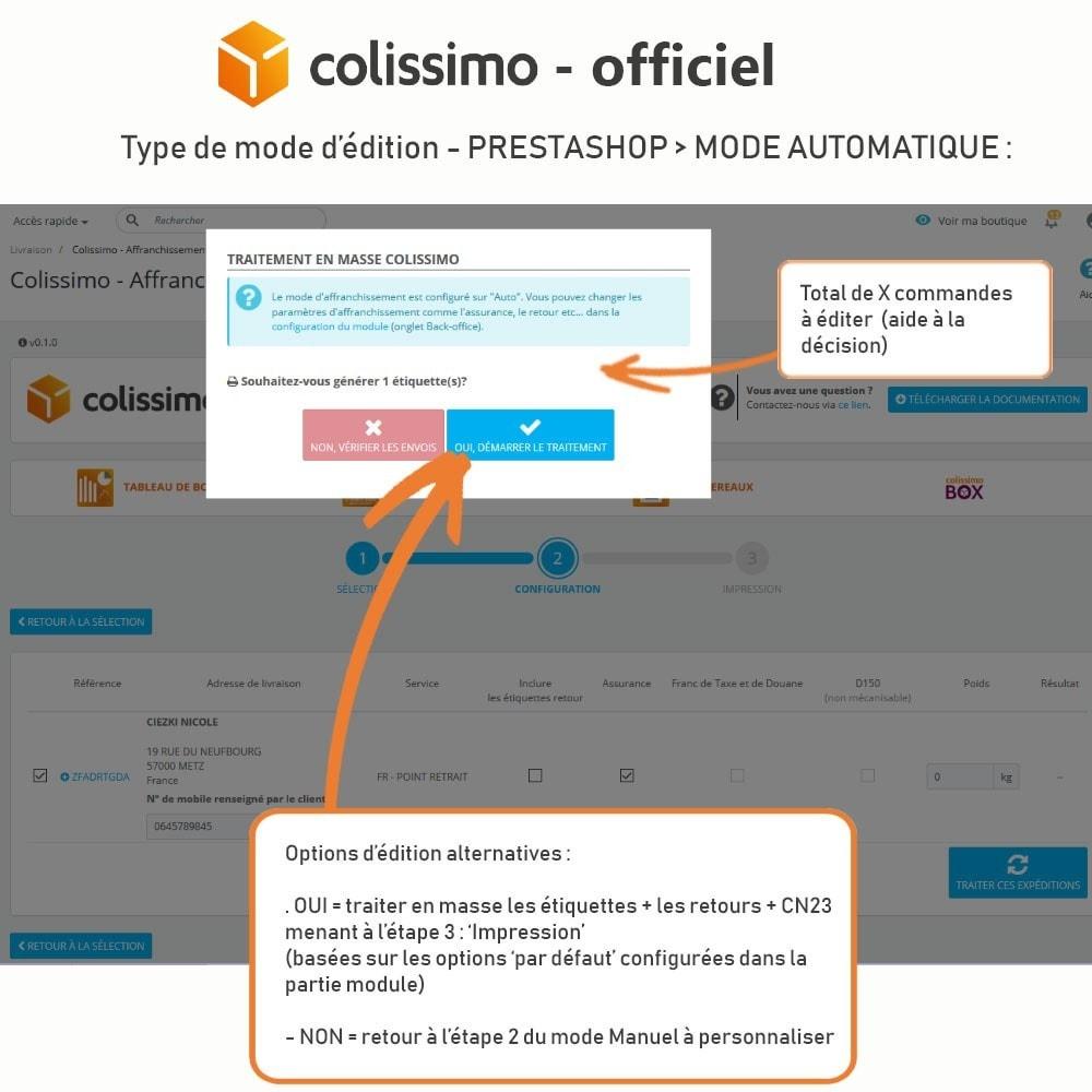 module - Transporteurs - Colissimo - Officiel : vos expéditions avec Colissimo - 15