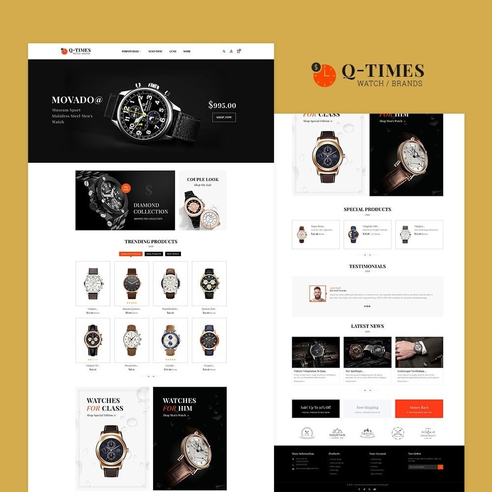 theme - Jewelry & Accessories - Times Watch - 2
