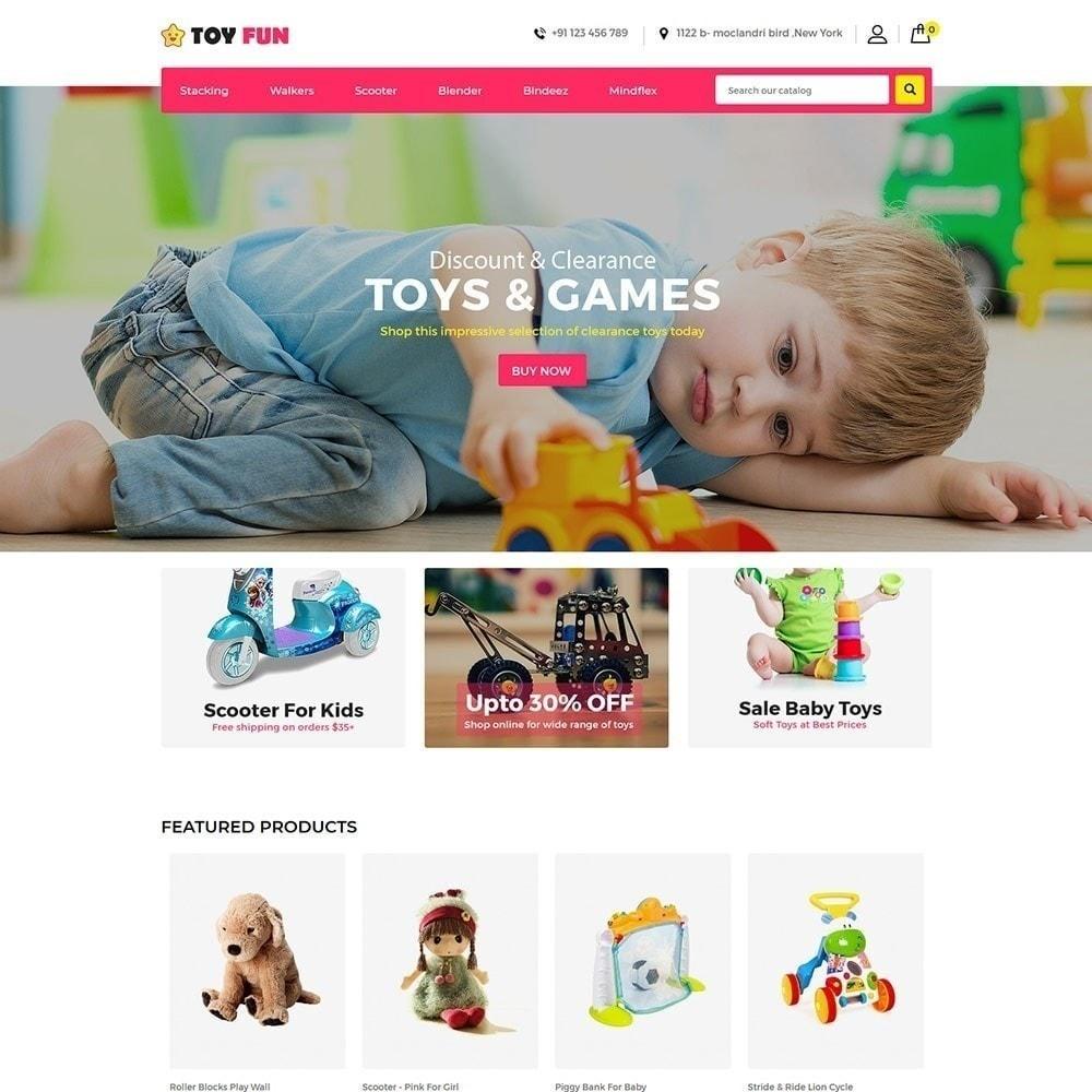 theme - Дети и Игрушки - Toy Fan - Kids Store - 2