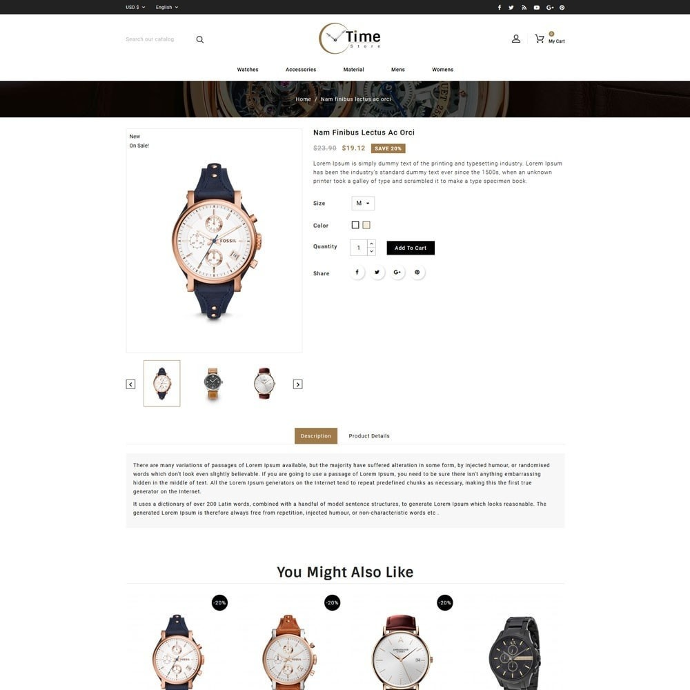 theme - Jewelry & Accessories - Time Store -Watch - 4