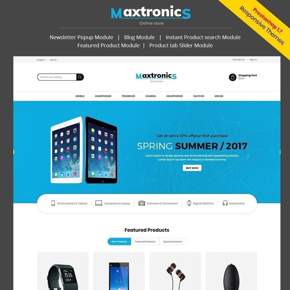 theme - Electronics & Computers - Maxtronics Electronics Store - 1