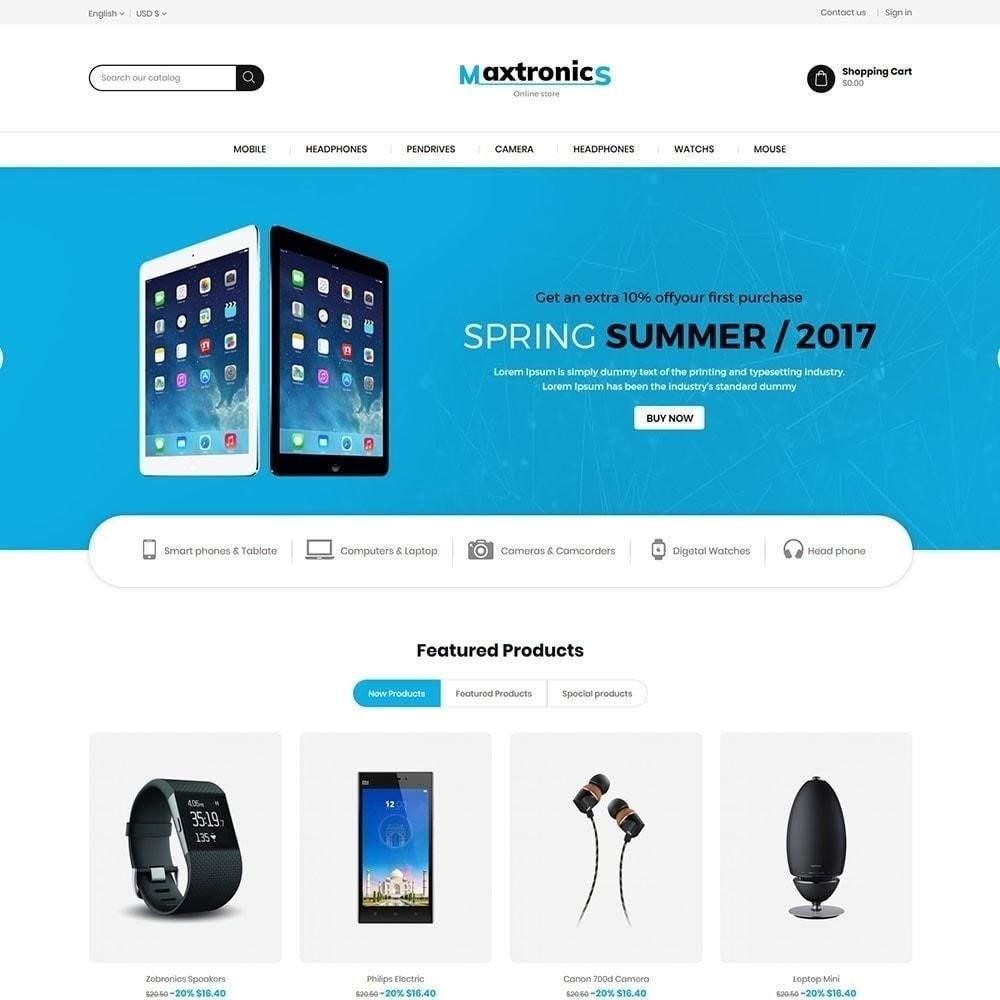 theme - Electronique & High Tech - Maxtronics Electronics Store - 2