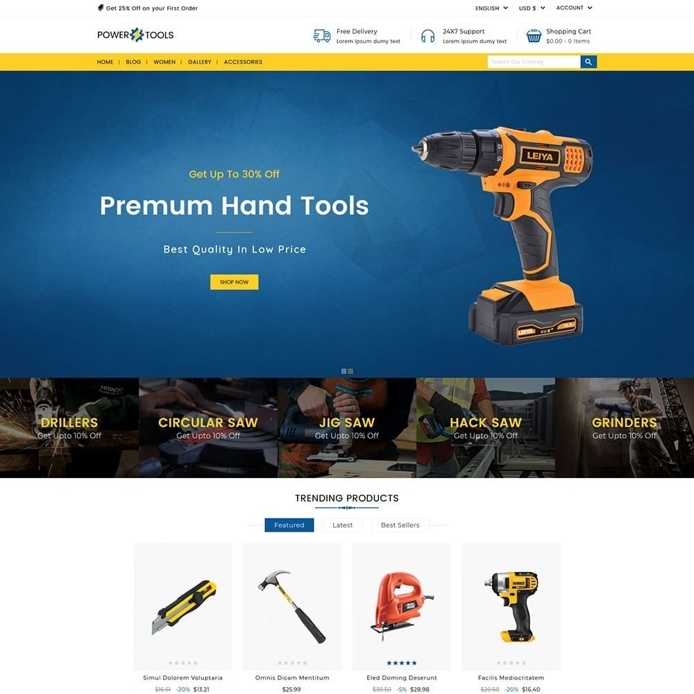 theme - Auto & Moto - Power Tools - 2