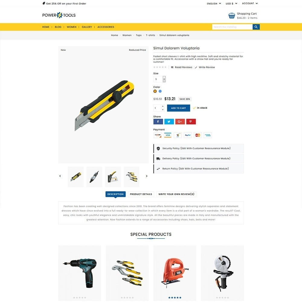theme - Auto's & Motoren - Power Tools - 4