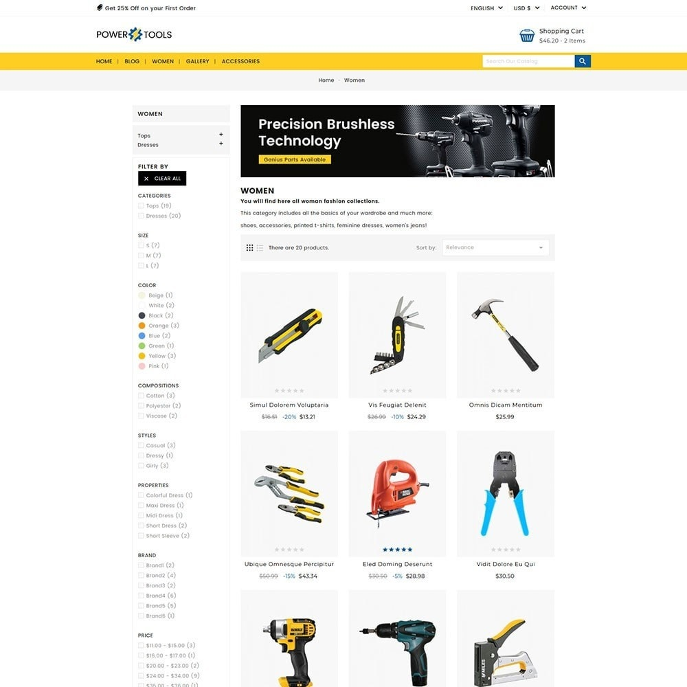 theme - Auto's & Motoren - Power Tools - 5