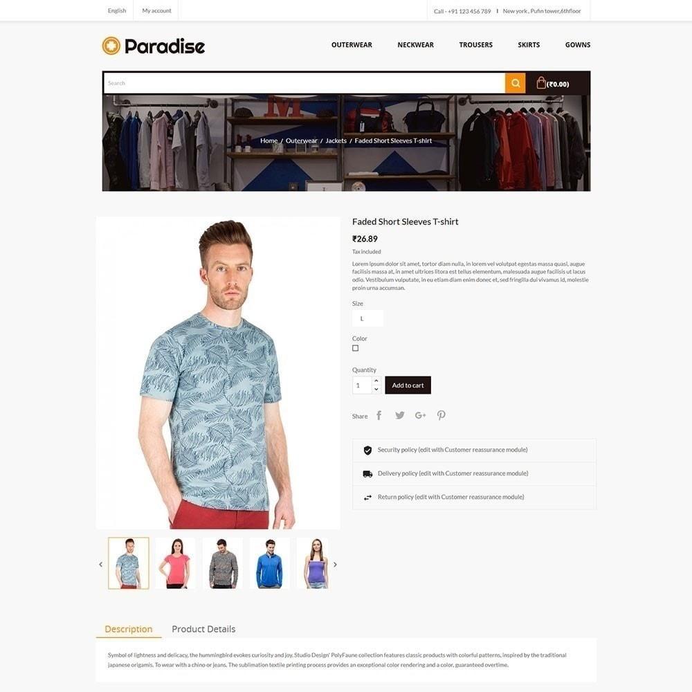 theme - Fashion & Shoes - Paradise - Fashion Store - 4