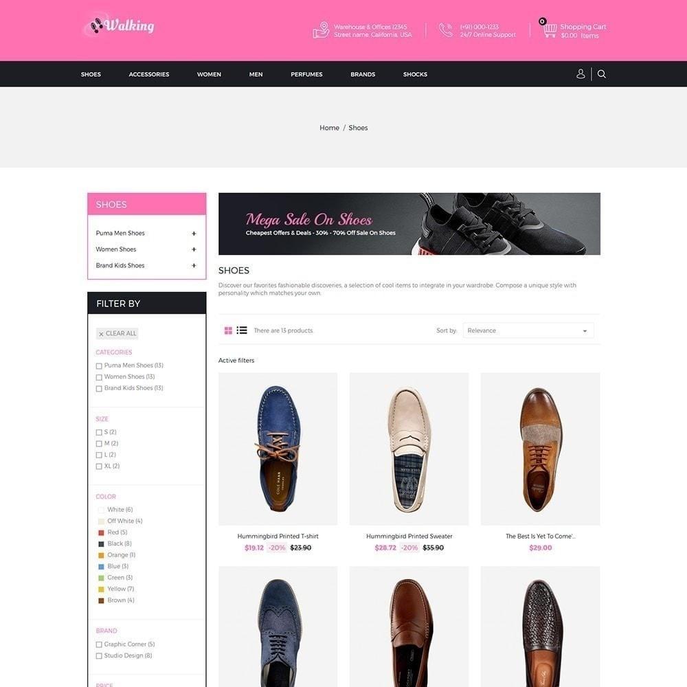 theme - Fashion & Shoes - Walking - Shoes Store - 3