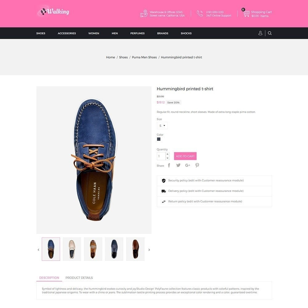 theme - Moda & Calzature - Walking - Negozio di scarpe - 3