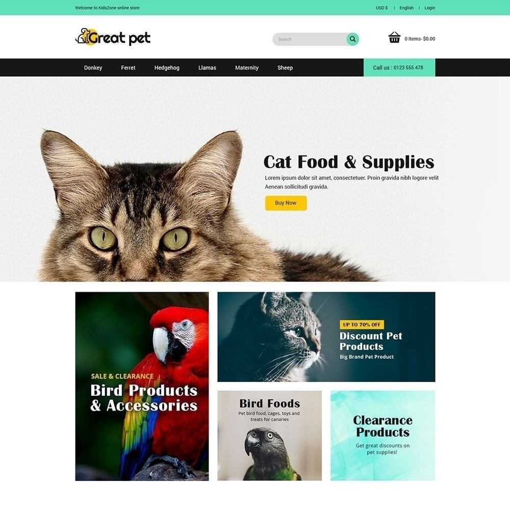 theme - Zwierzęta - Zwierzę domowe - Sklep zoologiczny - 3