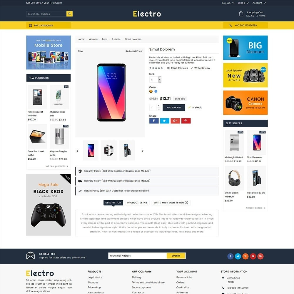 theme - Elettronica & High Tech - Electro Electronics Store - 3