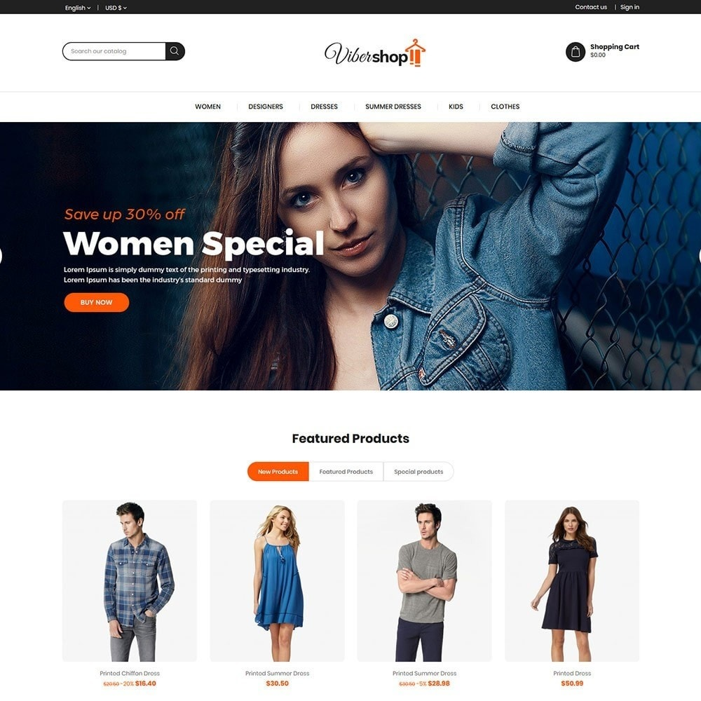 theme - Fashion & Shoes - Viber Fashion - Apparels Store - 2