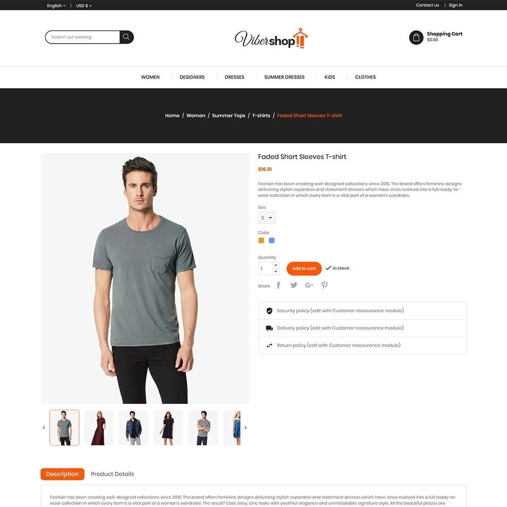 theme - Fashion & Shoes - Viber Fashion - Apparels Store - 5