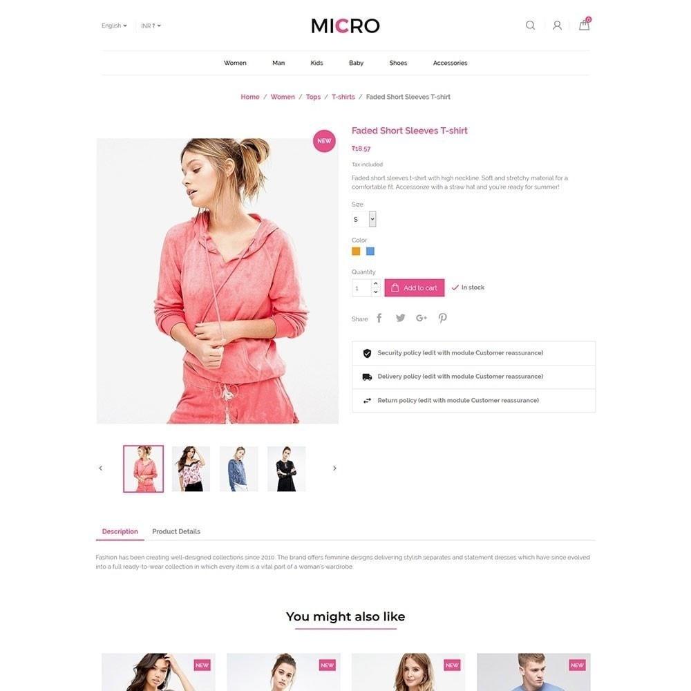 theme - Moda & Calçados - Loja de moda Micro - 5