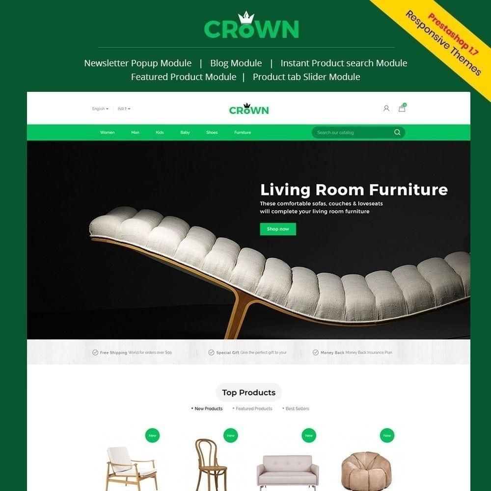 theme - Maison & Jardin - Thème de magasin de meubles de couronne - 1