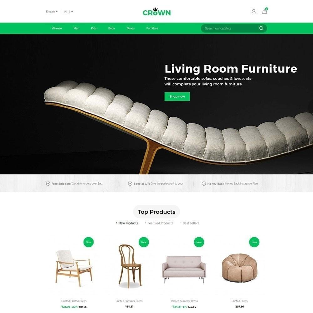 theme - Maison & Jardin - Thème de magasin de meubles de couronne - 3