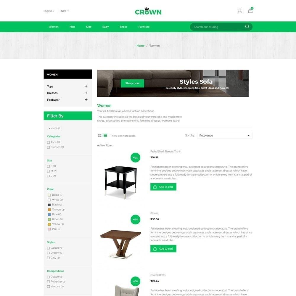 theme - Maison & Jardin - Thème de magasin de meubles de couronne - 4