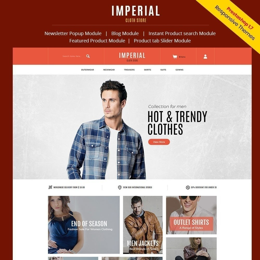 theme - Fashion & Shoes - Imperial Fashion Store - 2