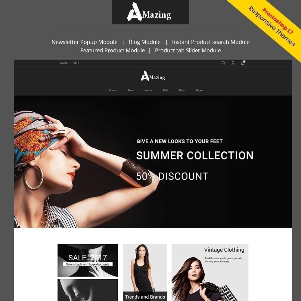 theme - Fashion & Shoes - Amazing Fashion Store - 1