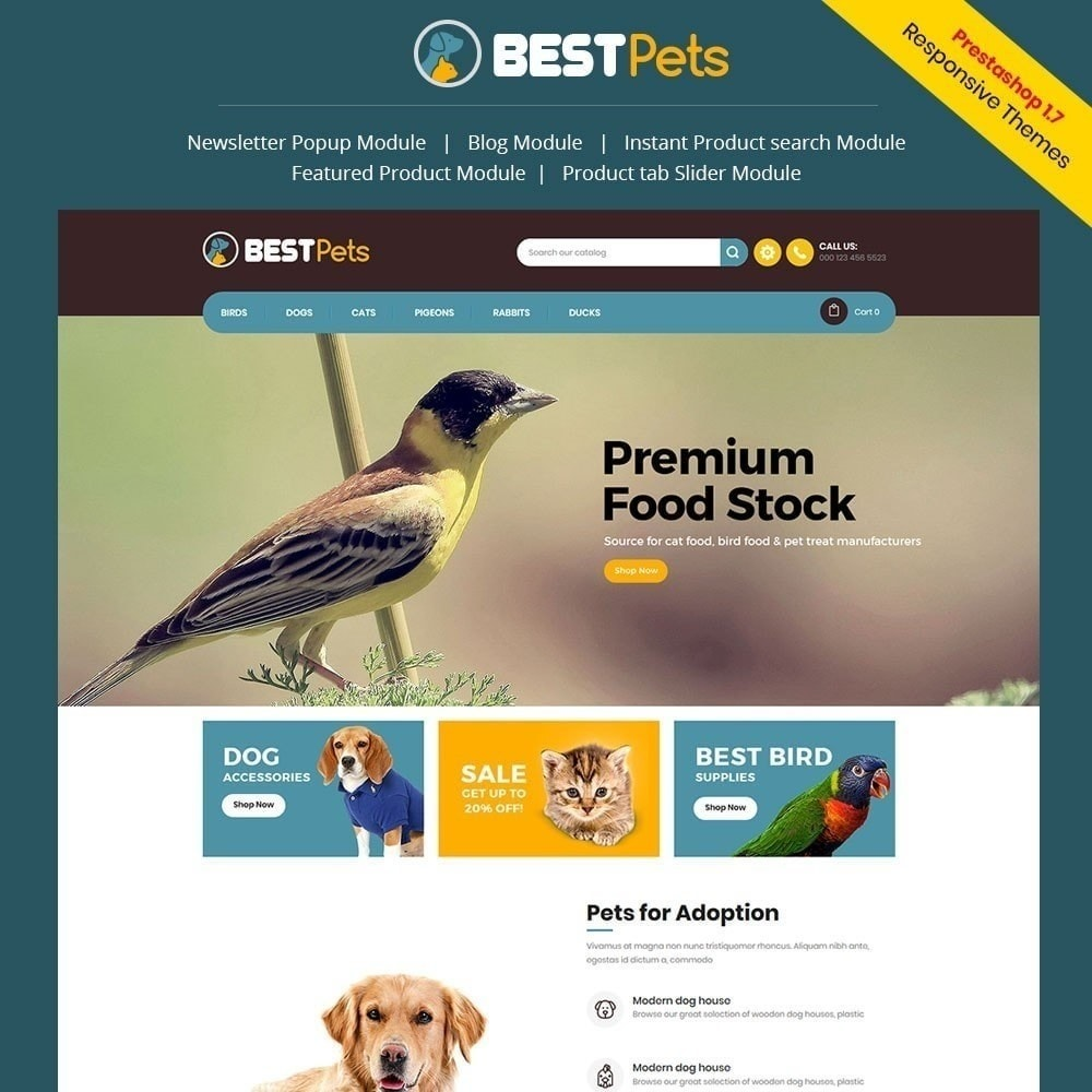 theme - Animaux - Bestpet Pet Store - 2