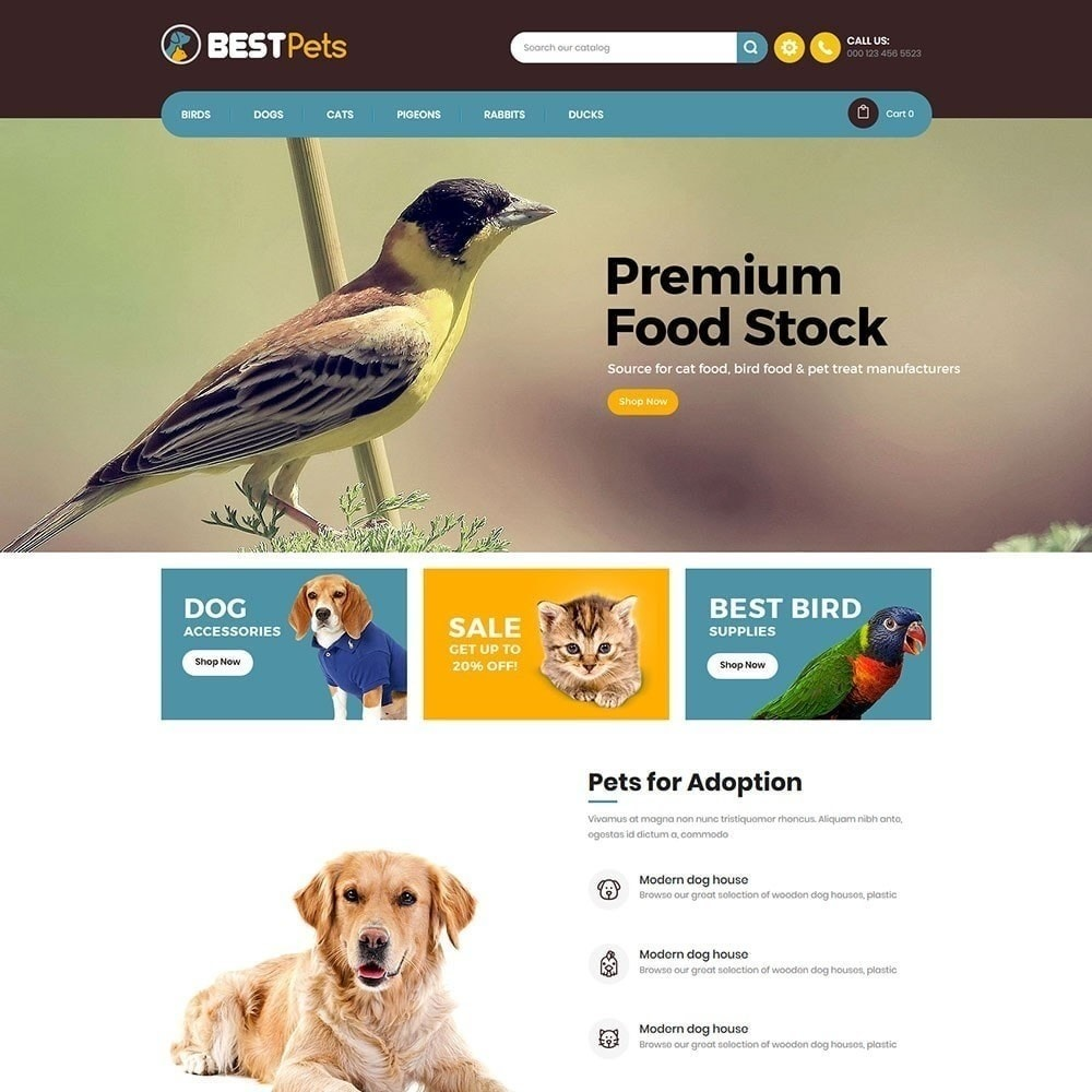theme - Animaux - Bestpet Pet Store - 2