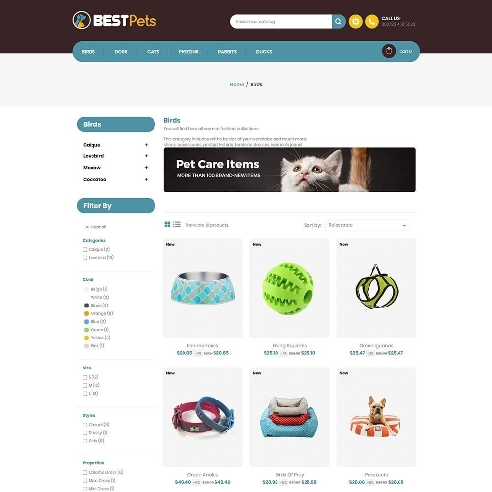 theme - Animaux - Bestpet Pet Store - 4
