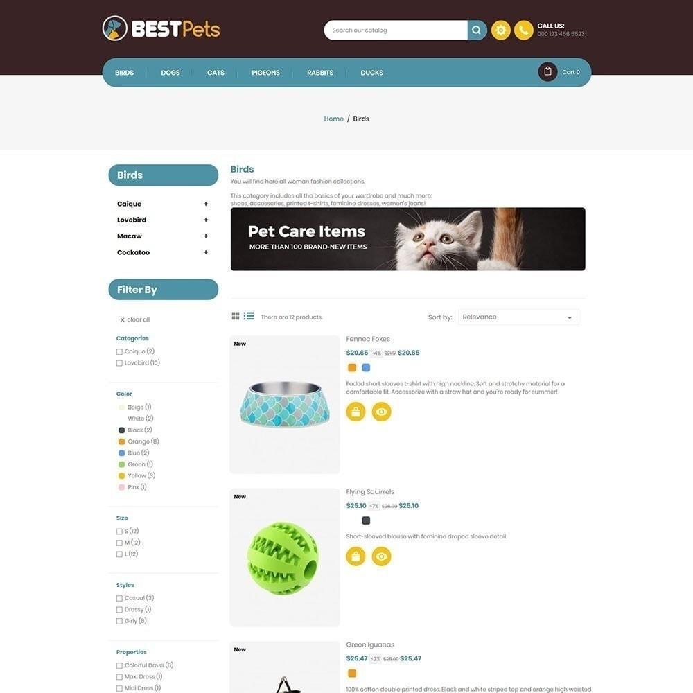 theme - Zwierzęta - Bestpet Pet Store - 3
