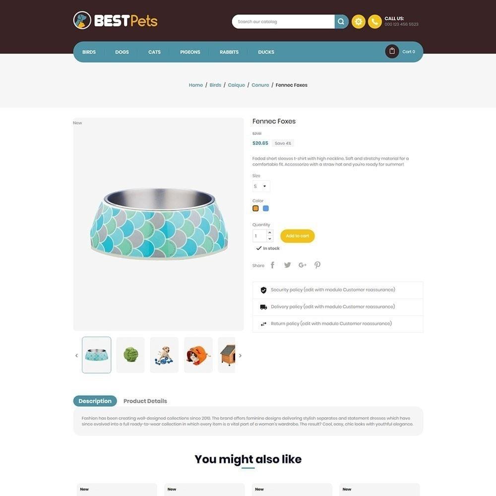 theme - Zwierzęta - Bestpet Pet Store - 4