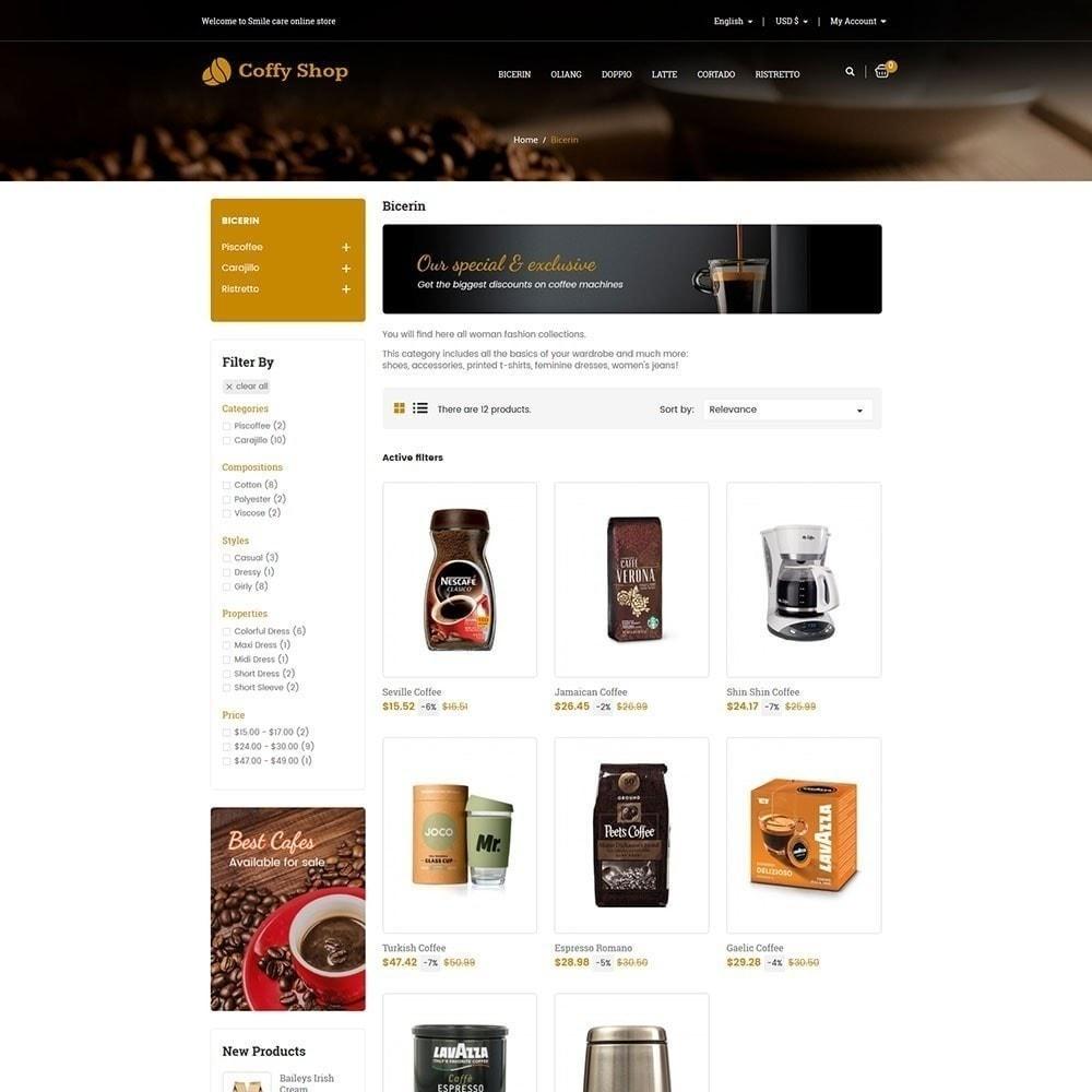 theme - Cibo & Ristorazione - Negozio di caffè - 3
