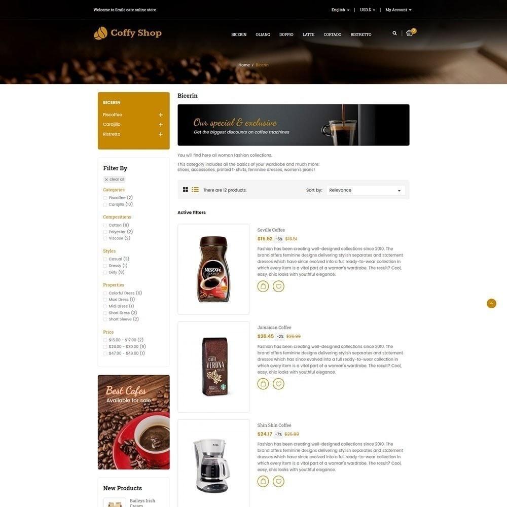 theme - Żywność & Restauracje - Sklep z kawą - 5