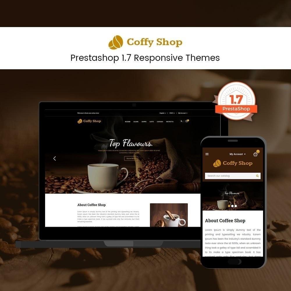 theme - Продовольствие и рестораны - Кофейный магазин - 2