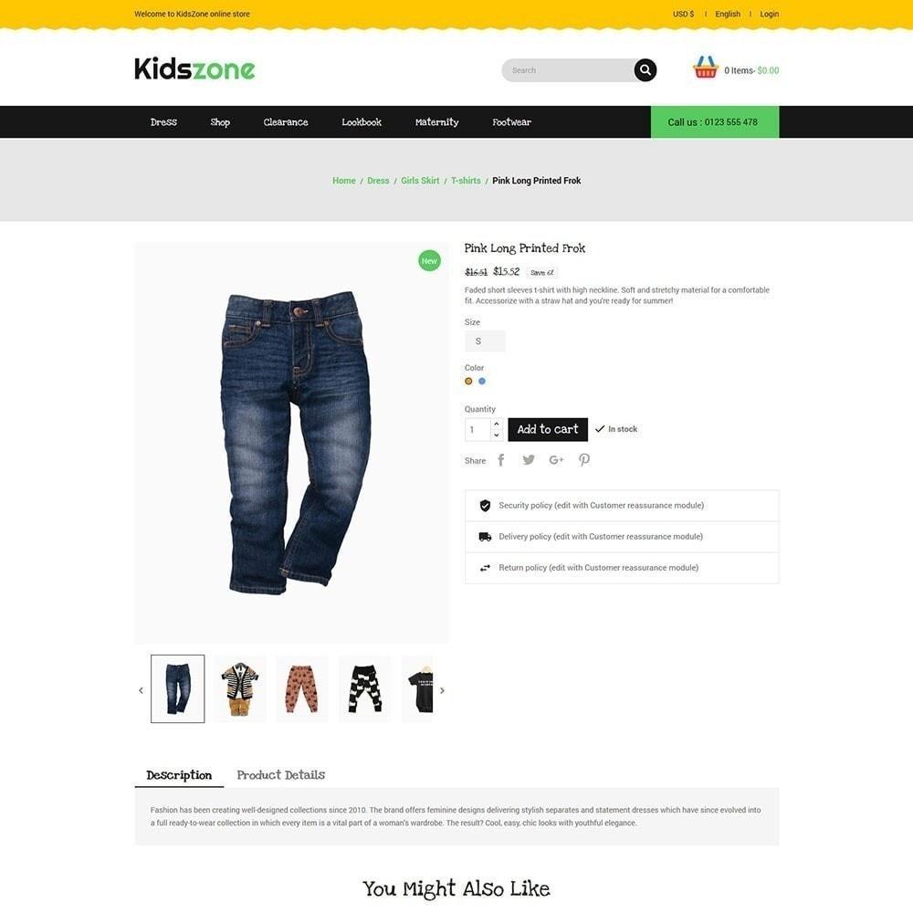 theme - Kids & Toys - Kidszone - Kids Store - 4