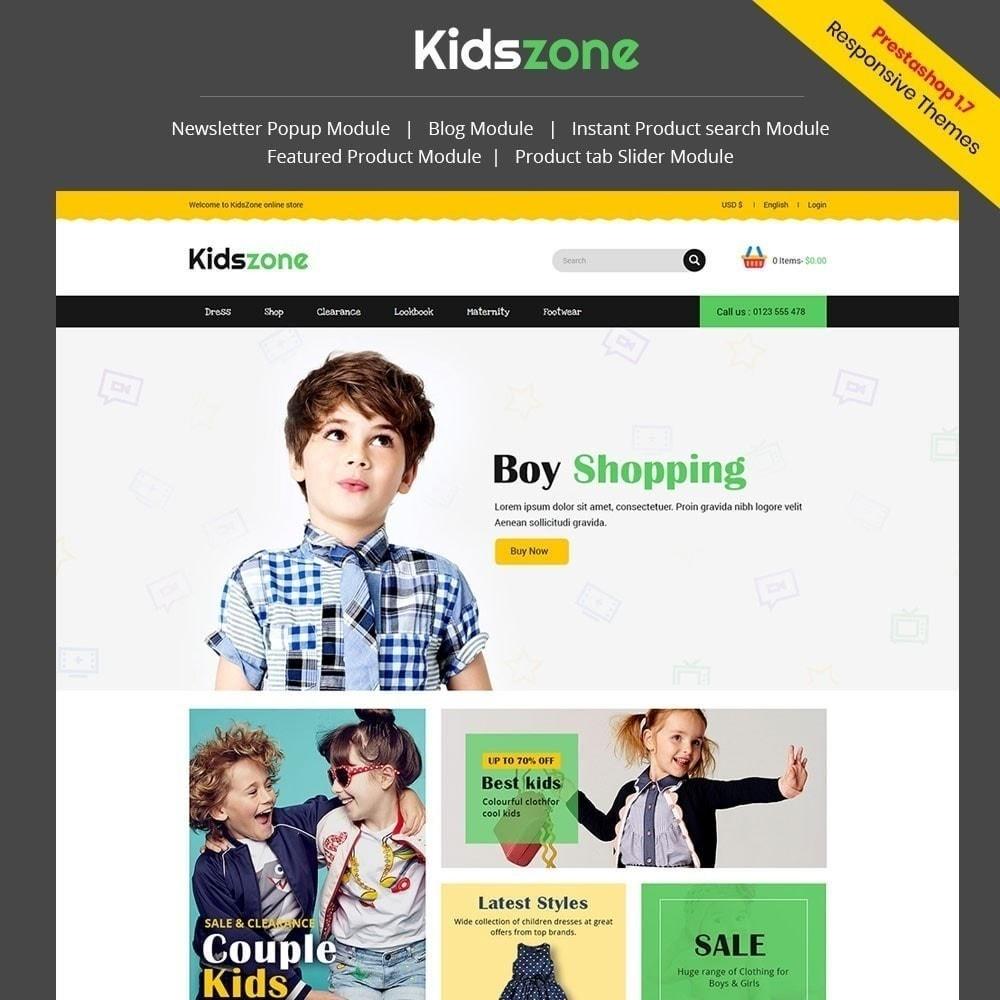 theme - Crianças & Brinquedos - Kidszone - Loja Infantil - 1
