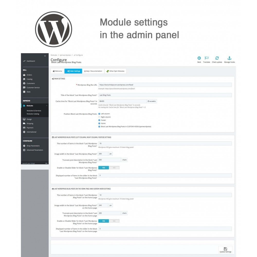 module - Blog, Forum & Aktualności - Block Last Wordpress Blog Posts - 5
