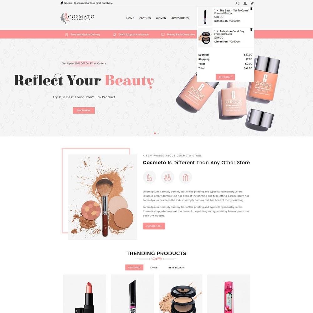 theme - Santé & Beauté - Cosmato Cosmetics Store - 3