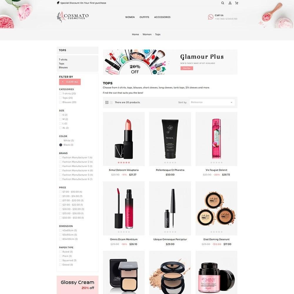 theme - Santé & Beauté - Cosmato Cosmetics Store - 5