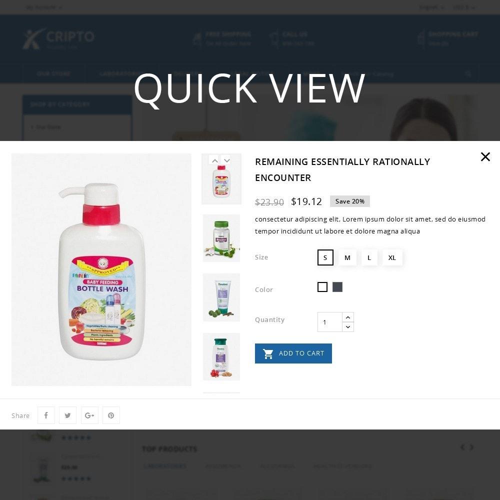 theme - Gesundheit & Schönheit - Cripto - Mega Medicine Store - 12