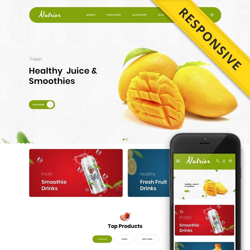 theme - Food & Restaurant - Nutrior - Fruits Store - 1