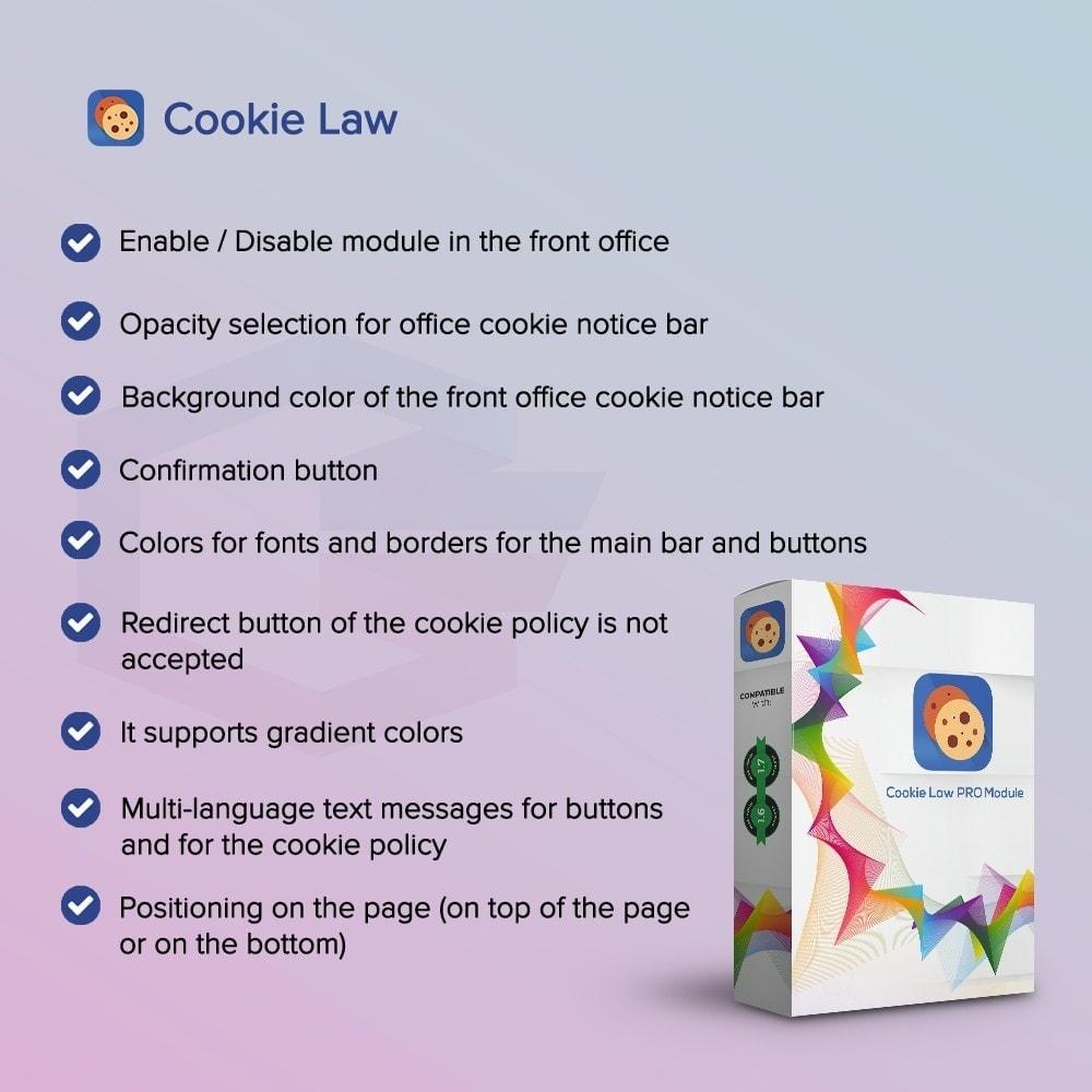 module - Marco Legal (Ley Europea) - Ley Cookie - 1
